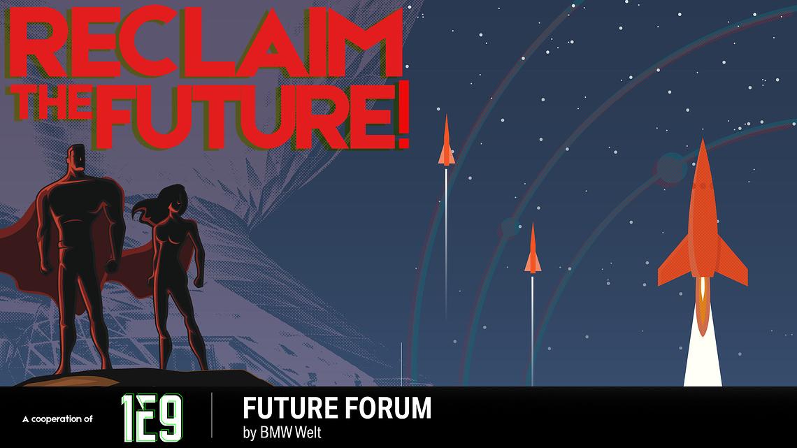 Reclaim the Future Visual Englisch