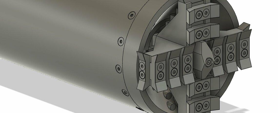 Das TUM-Boring-Maschine. ©TUM Boring