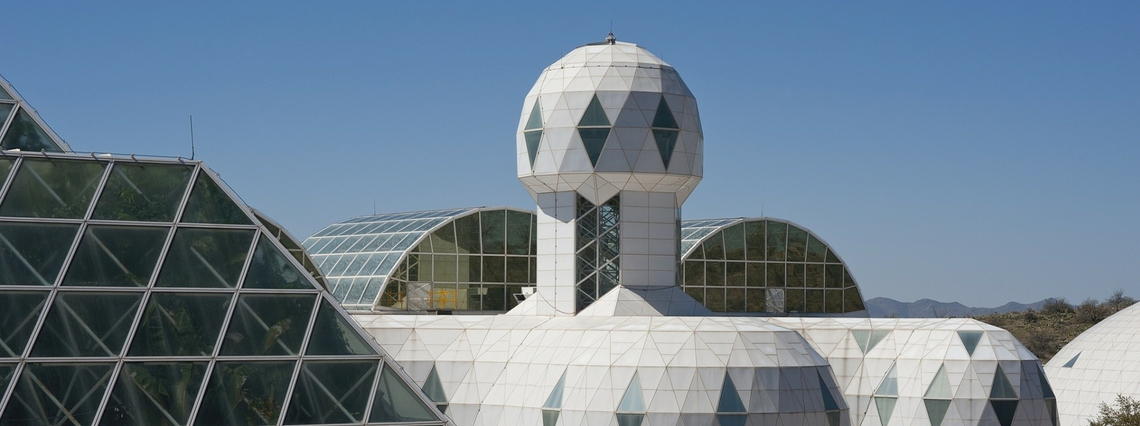 Biosphere 2 ©Getty Images / chapin31