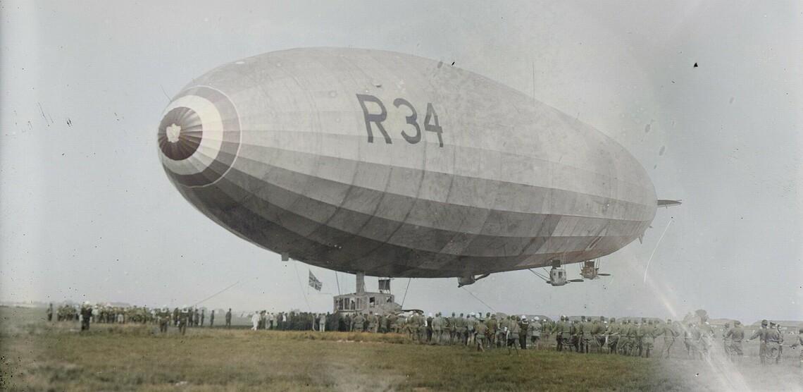 Das Luftschiff R34