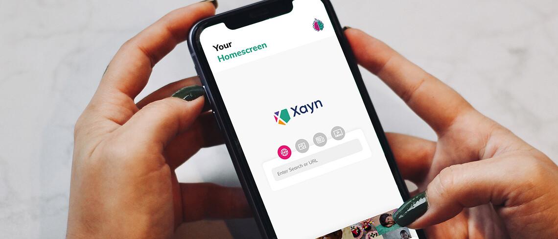 Die Suchmaschine Xayn trainiert eine KI auf dem eigenen Smartphone.