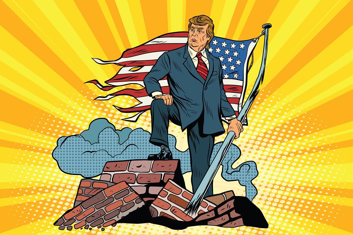 Trump auf den Ruinen Amerikas