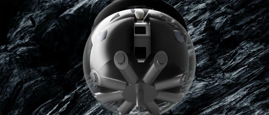 Die ESA testet einen Hamster-Ball-Roboter, der Mondhöhlen erkunden soll