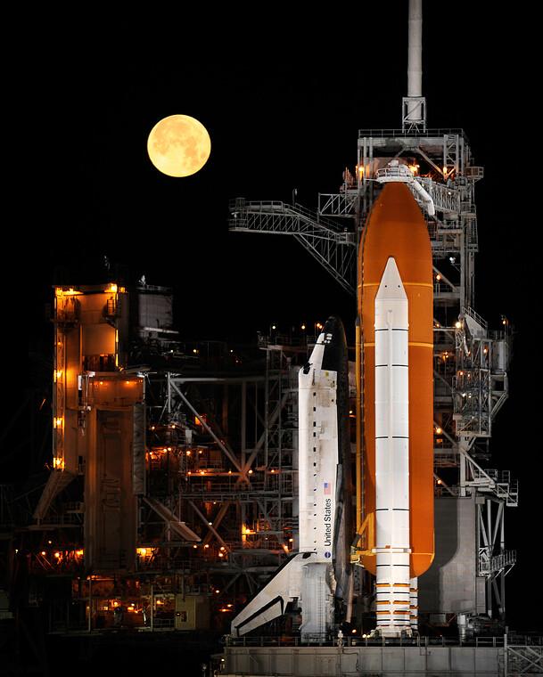 Der Wettlauf zum Mond hat begonnen. Bild: NASA