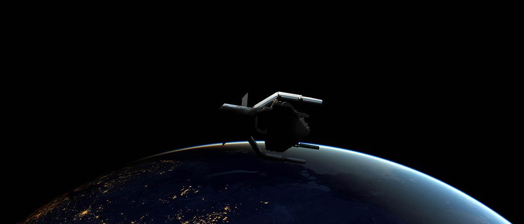 Die ESA will orbitalen Müll mit einer Weltraum-Kralle entfernen