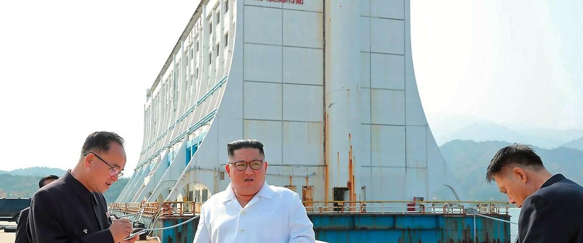 Das Schwimmhotel in Nordkorea. ©KCNA