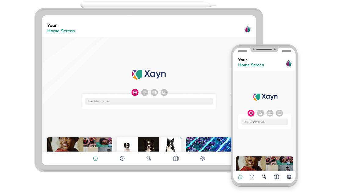 Xayn, eine auf Privatsphäre fokussierte Suchmaschine ©Xayn