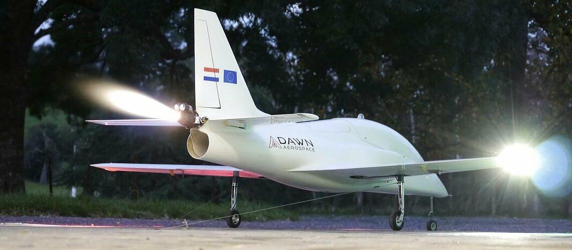 Der Aurora Mark-1-Demonstrator glich eher einem Modellflugzeug und sollte zeigen, ob ein Raketenflugzeug überhaupt machbar ist..