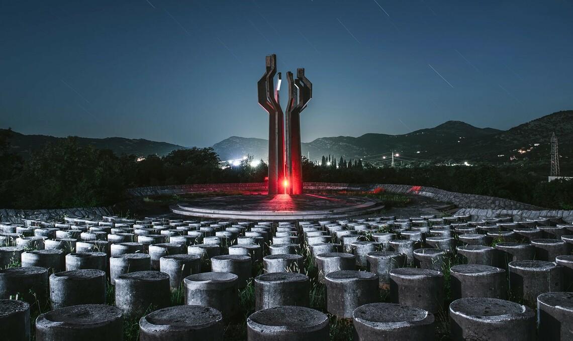 Denkmal für die gefallenen Soldaten von Lješanska nahija ©Yang Xiao