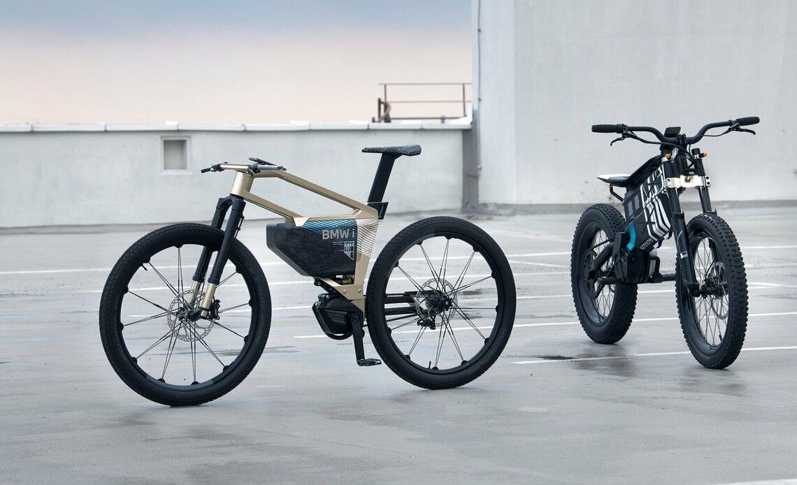 Derzeit dürfte das BMW-Rad so nicht auf die Straße. Denn es ist einfach zu schnell. ©BMW