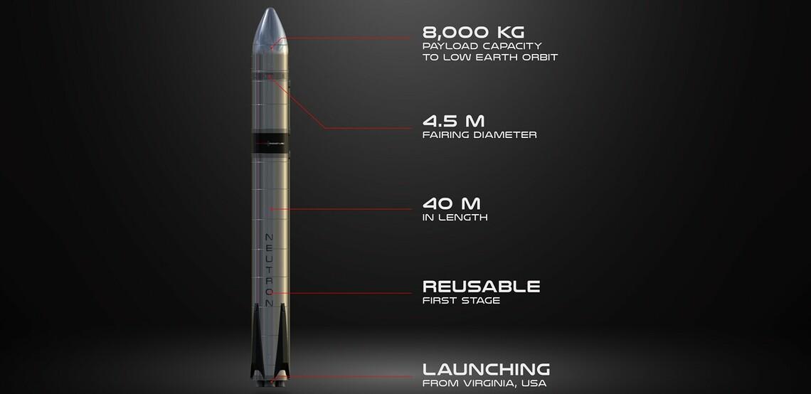 Neutron Rakete ©Rocket Lab