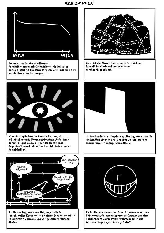Corona Scribbles Folge 28 Seite 1