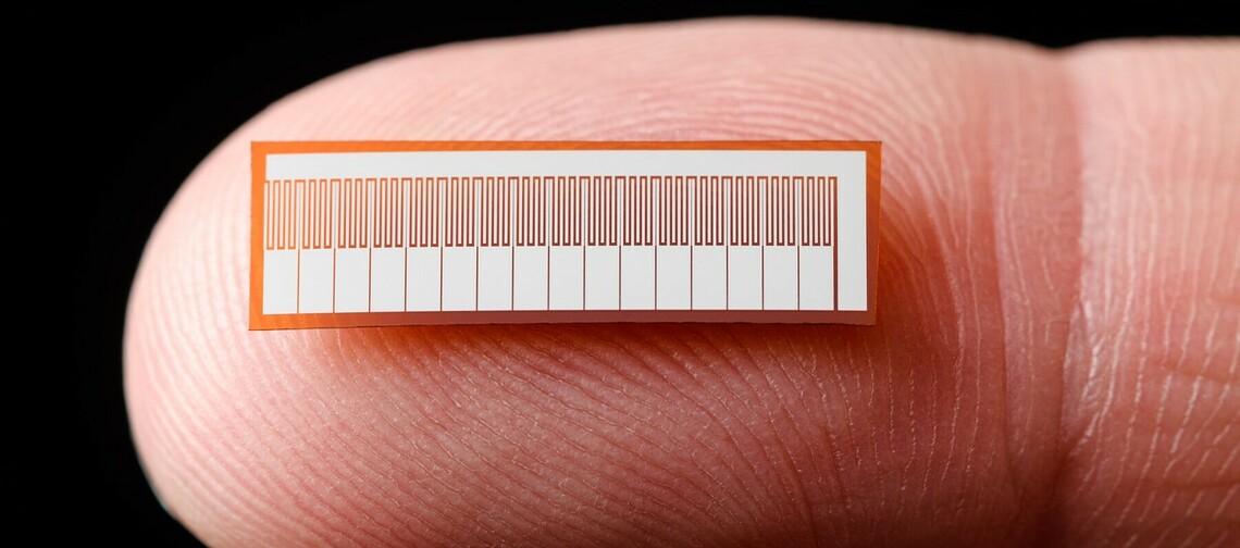 Sie sehen vollkommen unscheinbar aus. Jedoch sind diese kleine Chips der Kern der künstlichen Nase, die das Start-up aus Dresden entwickelt hat. ©SmartNanotubes