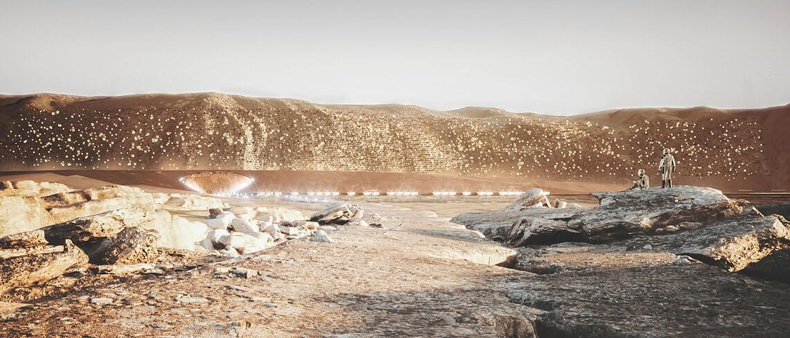 Nüwa City, eine Stadt für den Mars