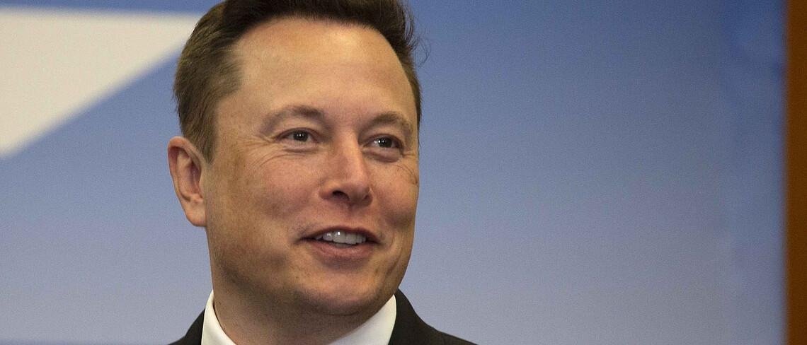 Elon Musk hofft mit einem Preis die Entwicklung von Carbon-Capture-Technologie voranzutreiben.