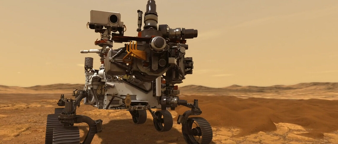 Mars-Rover Perservance