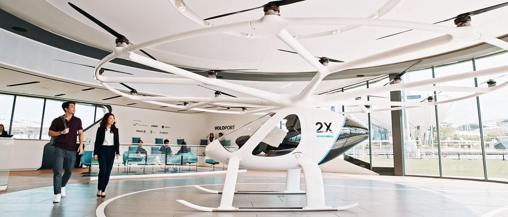 Ihr könnt euch jetzt einen Flug mit einem Volocopter reservieren