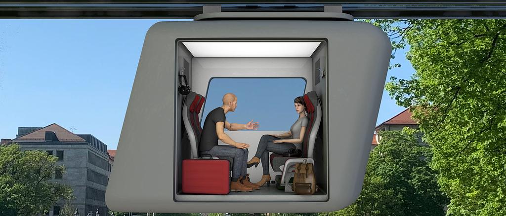 Das Start-up Ottobahn will den Verkehr mit KI-gelenkten Schwebebahnen revolutionieren