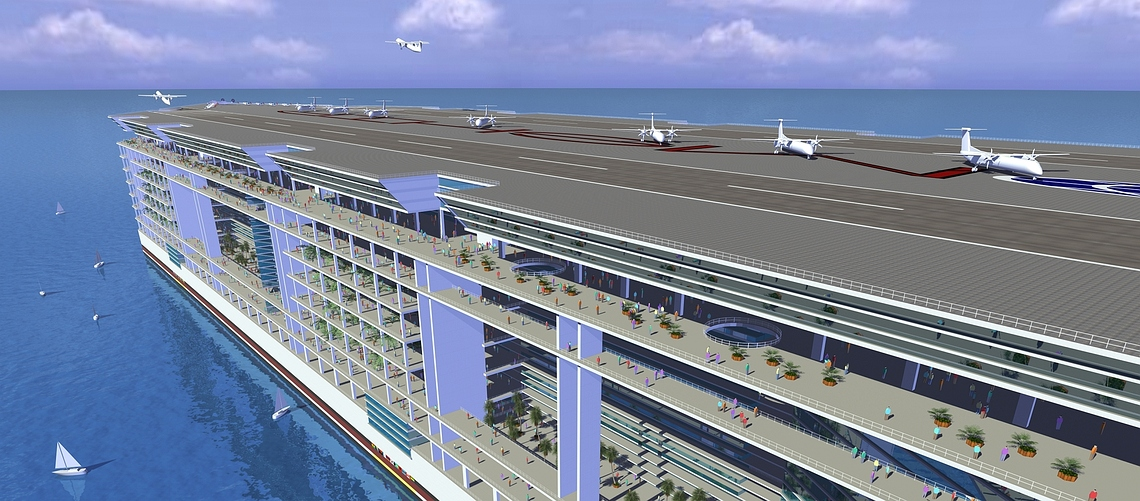 Freedom Ship©Freedom Cruise Line International, Inc.