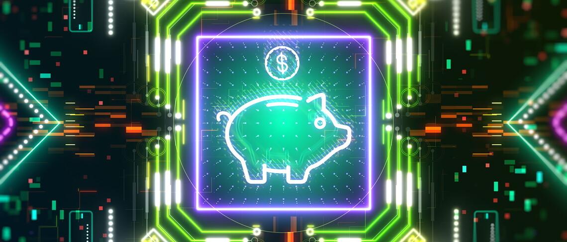 Symbolbild für digitales Geld