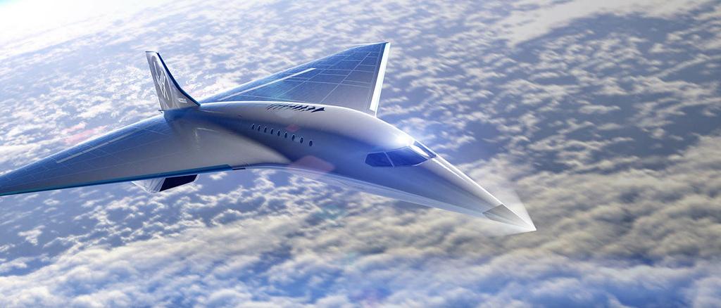 Virgin Galactic arbeitet auch an einem Überschallflugzeug, das der Concorde nachfolgen soll