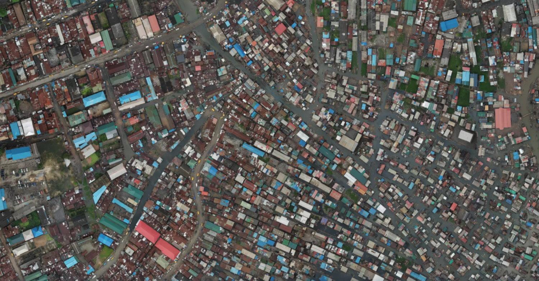 Makoko Luftbild
