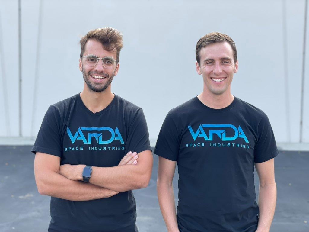 Delian Asparouhov und Will Bruey von Varda Space Industries