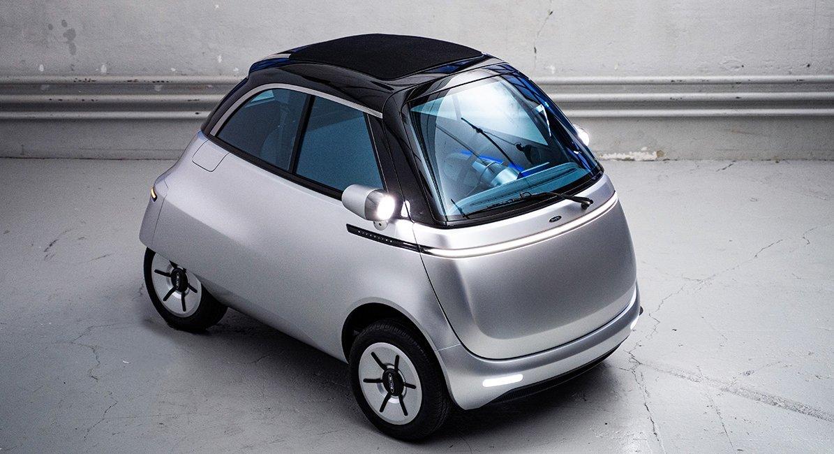 Noch in diesem Jahr soll die Fertigung des Microlino beginnen. ©Micro Mobility Systems