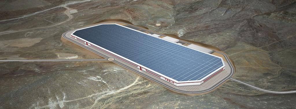 Tesla baut eine Gigafactory bei Berlin