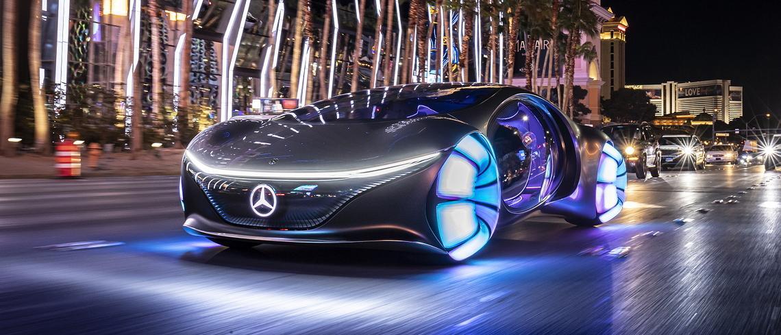 CES 2020: Das Auto der Zukunft soll zum rollenden Wohnzimmer werden – oder gleich fliegen