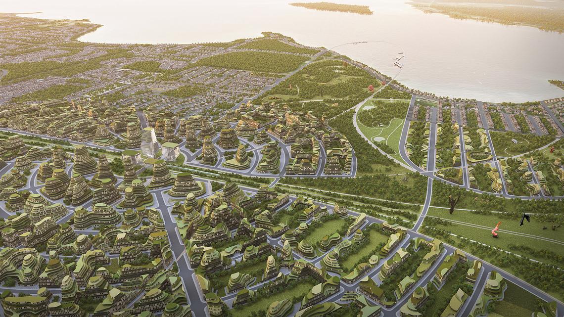 Ein kanadische Kleinstadt soll zur Zukunftsmetropole werden