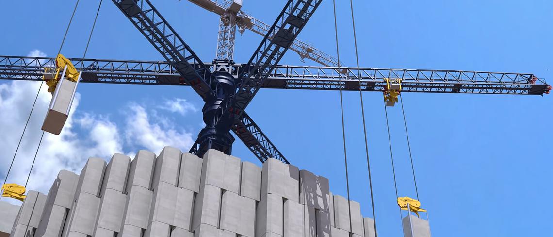 In der Schweiz wird eine riesige Batterie aus Beton gebaut