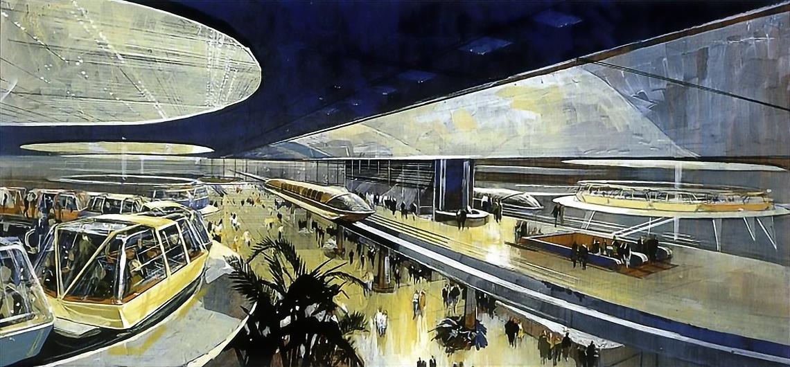 Als Walt Disney versuchte, die Stadt der Zukunft zu bauen