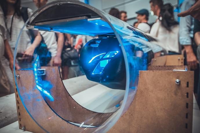 Mit diesem Hyperloop-Pod soll München erneut beim Wettbewerb von Elon Musk gewinnen