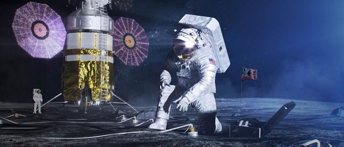 Das sind die Pläne für die Mondbasis der NASA
