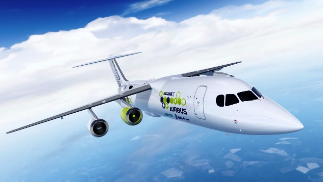 Airbus will bis 2035 emissionsarme Flugzeuge am Himmel haben