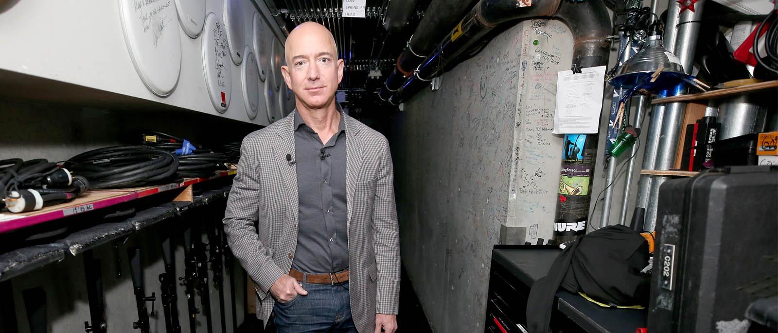 Jeff Bezos will mit einem Milliarden-Fonds die Klimakrise bekämpfen