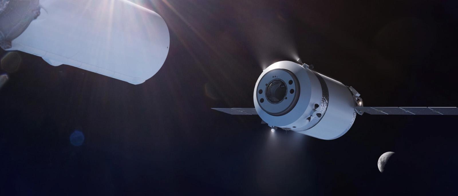 SpaceX soll mit einem Weltraum-Muli die zukünftigen Mond-Astronauten versorgen