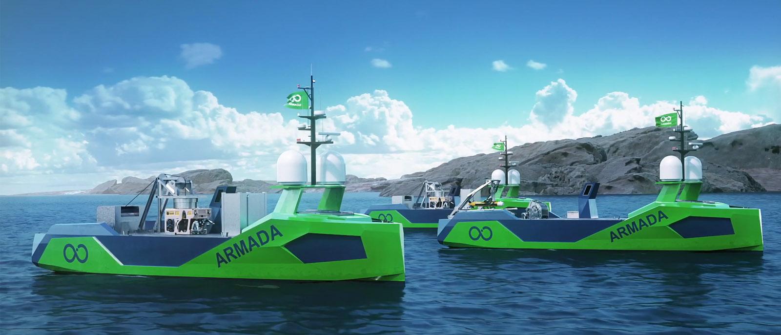 Eine Flotte von Robo-Schiffen soll die Tiefen der Weltmeere kartographieren