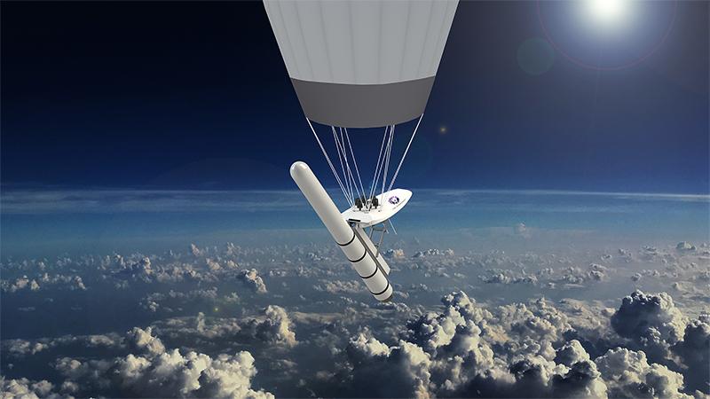 Leo Aerospace will Satelliten mit Ballons ins All bringen