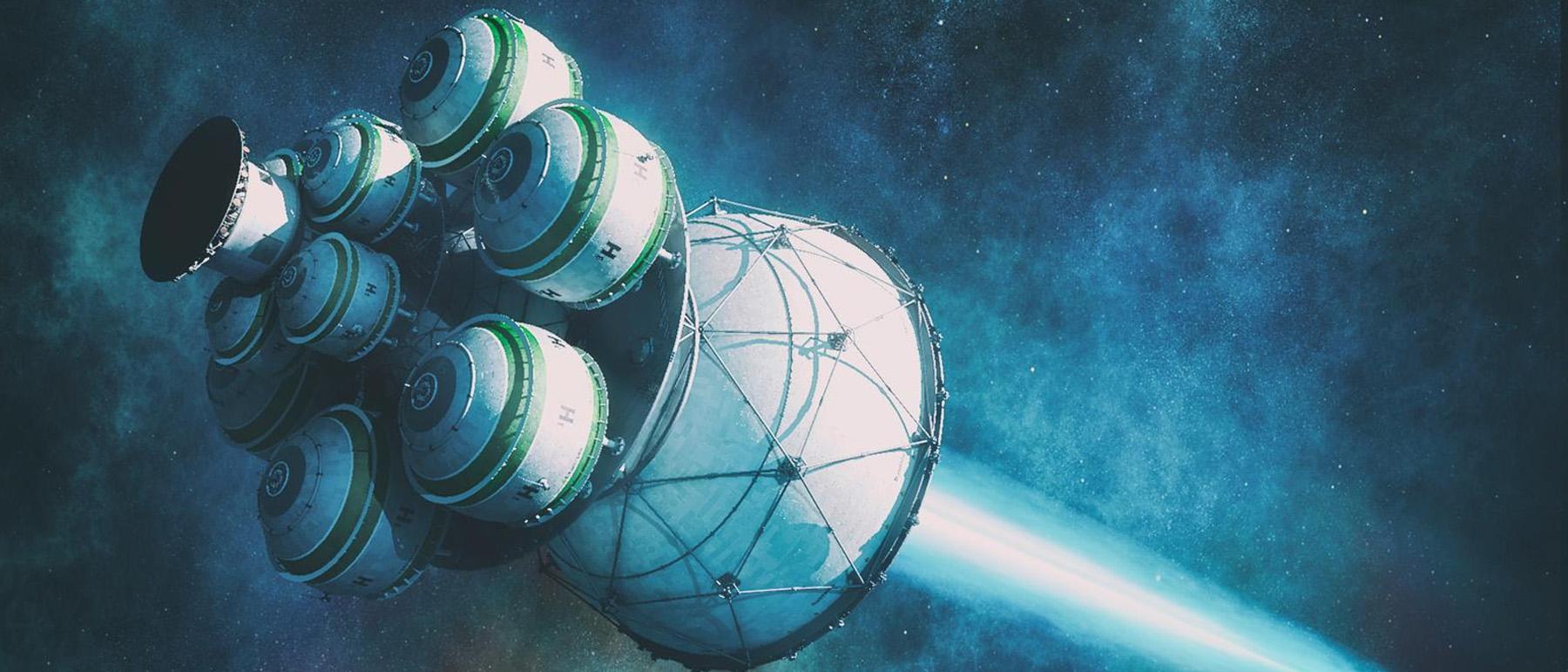 Projekt Daedalus: Wie uns ein Fusions-Raumschiff in ein anderes Sonnensystem bomben sollte