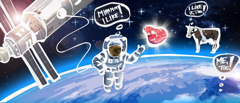 Weltraumfleisch